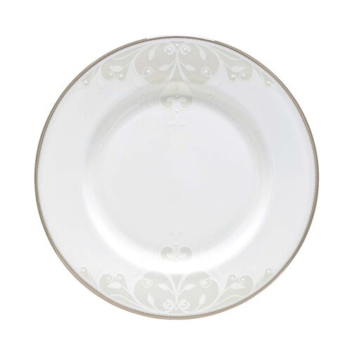 "Lenox Opal Innocence 8"" Scroll Salad Plate"