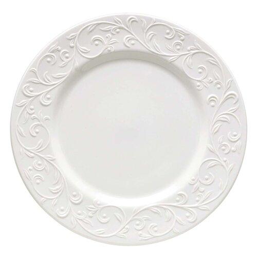 "Lenox Opal Innocence Carved 11.25"" Dinner Plate"