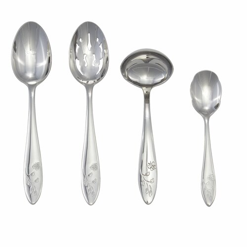 Lenox Butterfly Meadow 4 Piece Flatware Serving Set