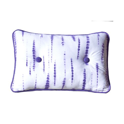 Karin Maki Tie Dye Cotton Blend Oblong Pillow