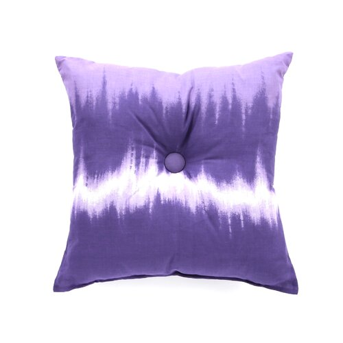 Karin Maki Tie Dye Cotton Blend Square Pillow