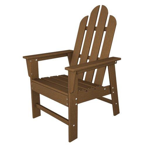 POLYWOOD® Long Island Adirondack Dining Arm Chair