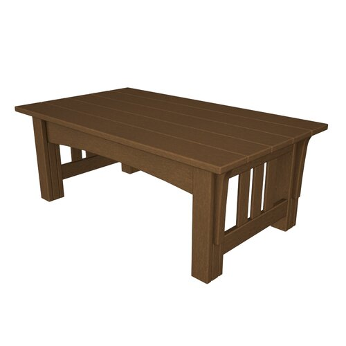POLYWOOD® Deep Seating Mission Coffee Table
