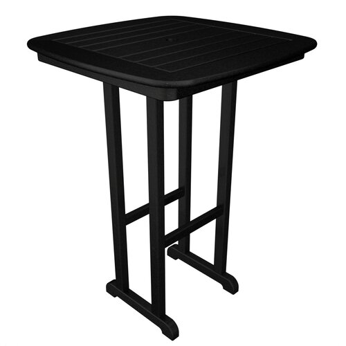 POLYWOOD® Nautical Bar Height Table