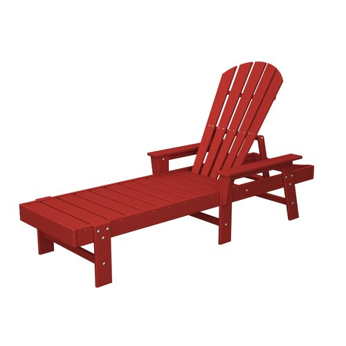 POLYWOOD® Shell Back Chaise Lounge