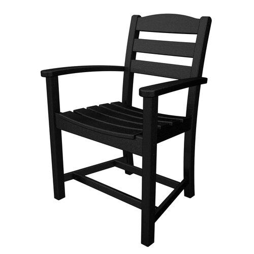 POLYWOOD® La Casa Cafe Dining Arm Chair