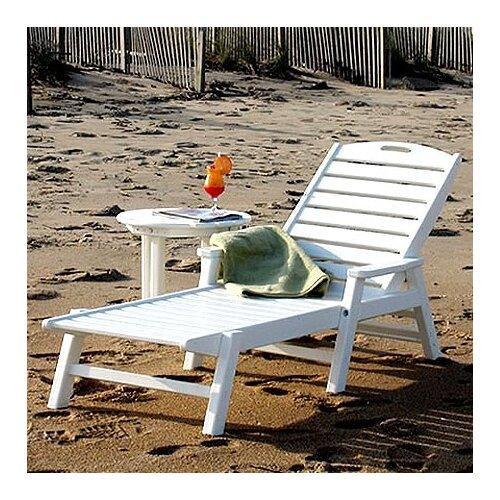 POLYWOOD® Nautical Chaise Lounge