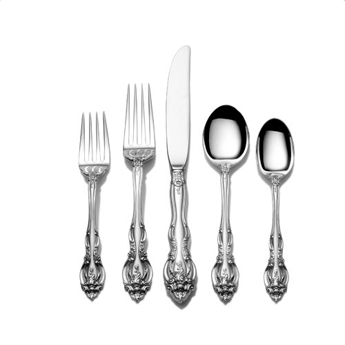 Gorham Sterling Silver Groham La Scala 46 Piece Dinner Flatware Set