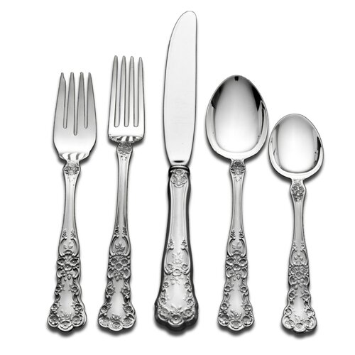 Gorham Sterling Silver Groham Buttercup 66 Piece Dinner Flatware Set