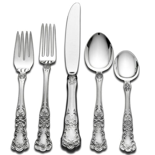 Gorham Sterling Silver Groham Buttercup 46 Piece Dinner Flatware Set