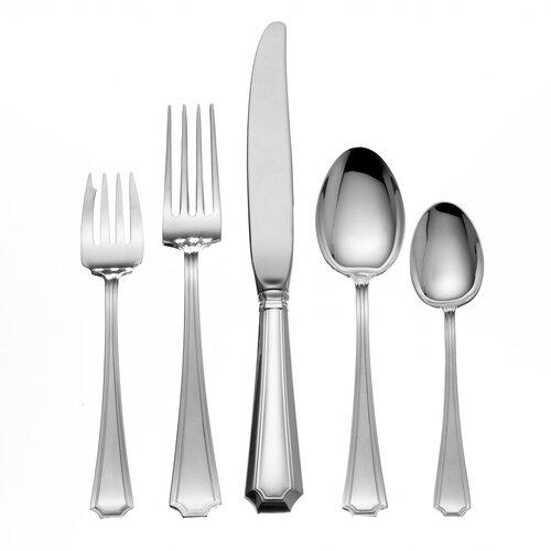 Gorham Sterling Silver Groham Fairfax 5 Piece Dinner Flatware Set