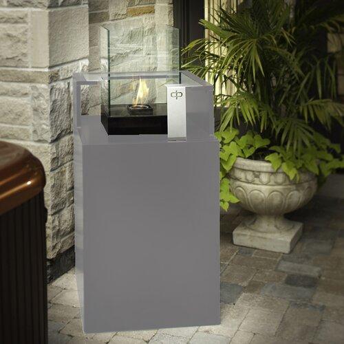 Decorpro Podium Bio Ethanol Fireplace with Storage Unit