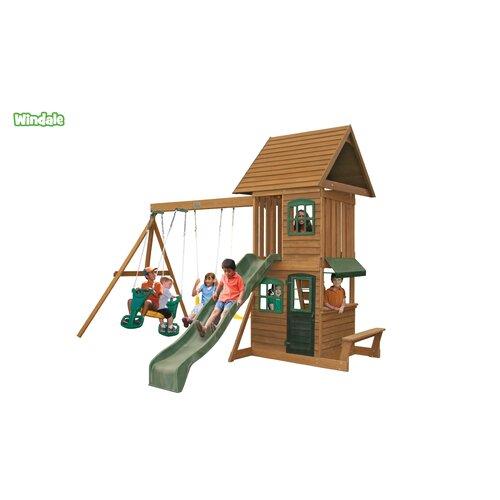 Big Backyard Daycare : Big Backyard Windale Wooden Play Set