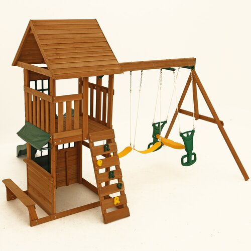 Big Backyard Windale : Big Backyard Windale Wooden Play Set & Reviews  Wayfair