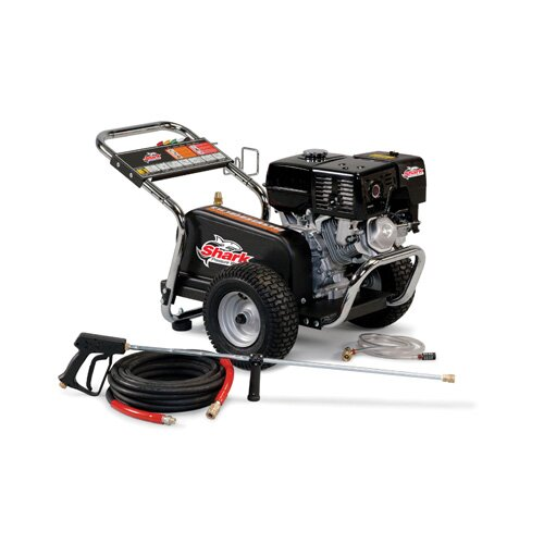 Shark Pressure Washers BG Series 3 GPM Honda GX270 Belt Drive Cold Water Pressure Washer