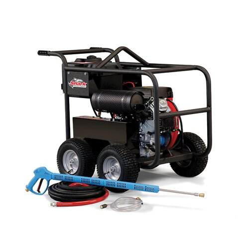 Shark Pressure Washers BR Series 3.5 GPM Kohler KD420 Diesel Belt Drive Cold Water Pressure Washer