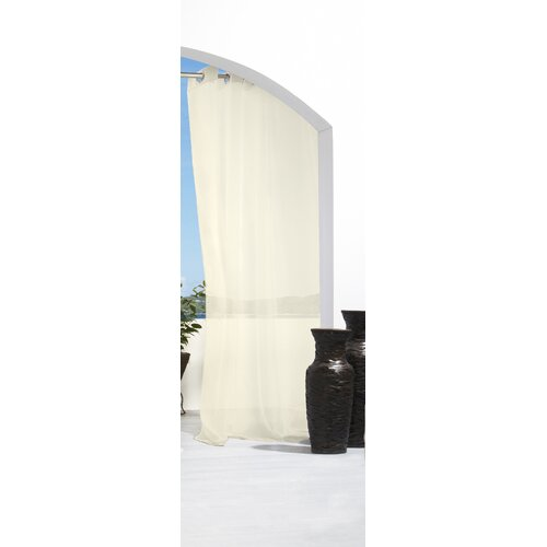 Commonwealth Home Fashions Outdoor Décor Escape Outdoor Grommet Curtain Single Panel