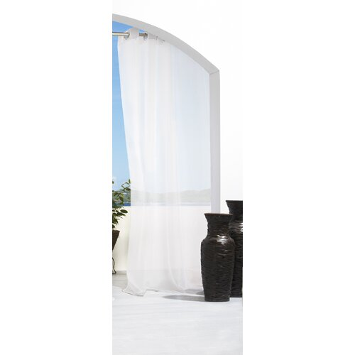 Commonwealth Home Fashions Outdoor Décor Escape Grommet Curtain Single Panel