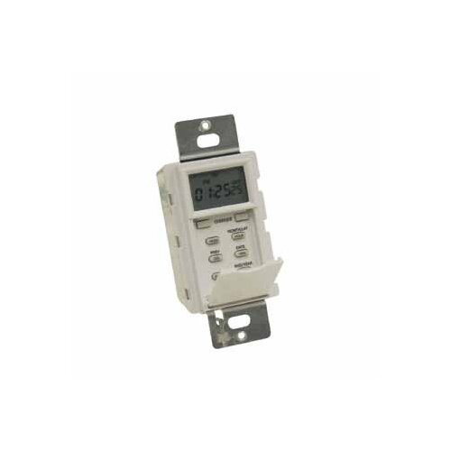 NSI Industries 7 Days Astronomic In-Wall Timer in White