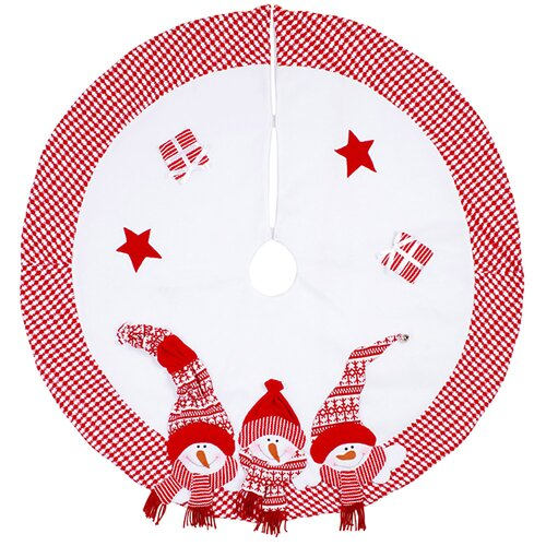 DonnieAnn Company 3 Snowman Tree Skirt