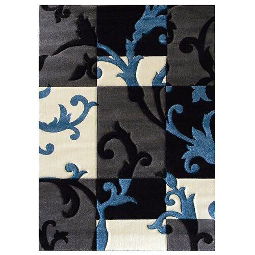 DonnieAnn Company Studio 602 Charcoal Floral Area Rug