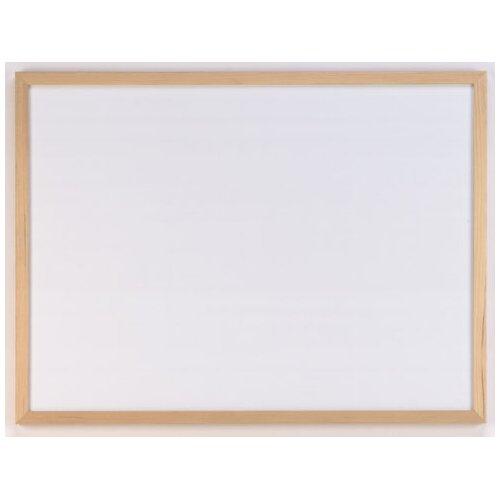 AccoBrands Wood Frame Dry Erase 1.39' x 1.88' Bulletin Board