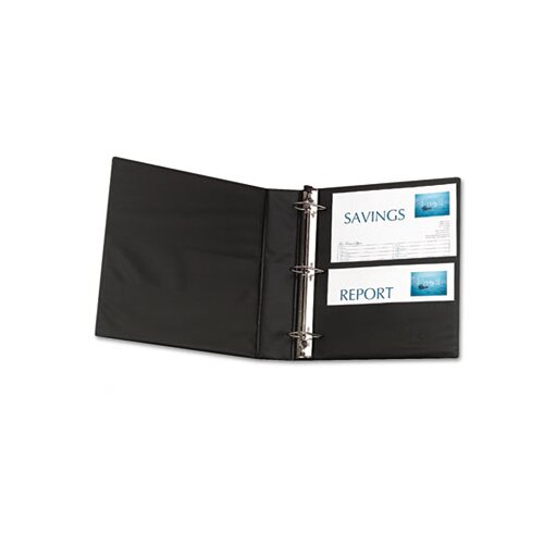 Avery Durable Slant Ring Reference Binder With Label Holder