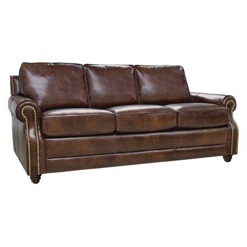 light brown leather sofa wayfair