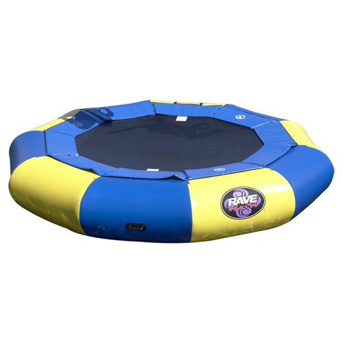Rave Sports Aqua Jump 120-Eclipse Trampoline