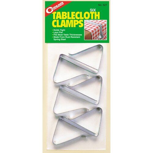 Coghlans Table Cloth Clamp (Set of 6)