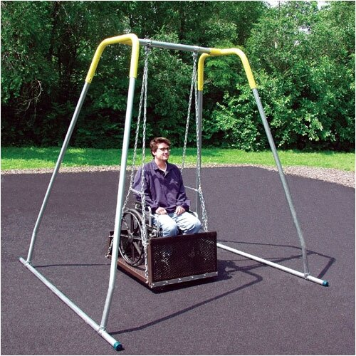 SportsPlay Permanent ADA Swing Seat with Frame
