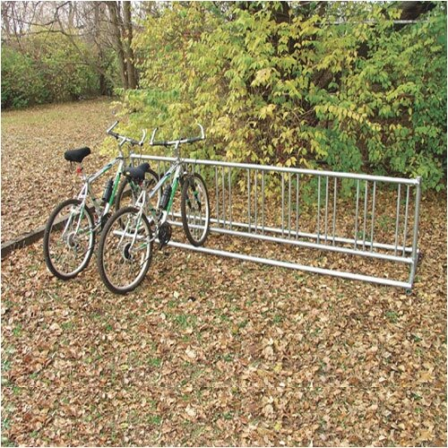 SportsPlay Permanent Double Entry Bike Rack