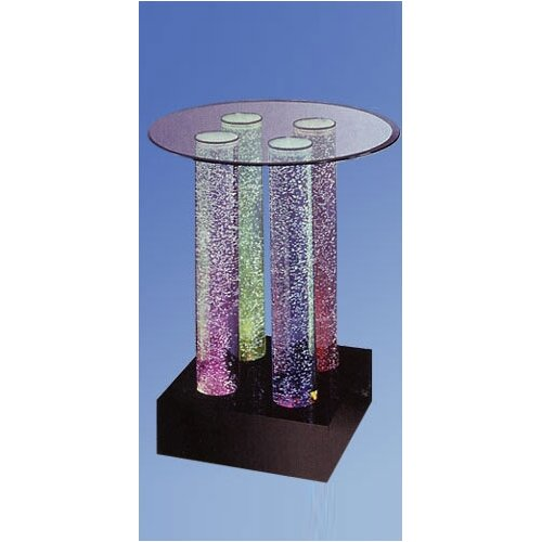 Midwest Tropical Fountain Aqua Pub Table