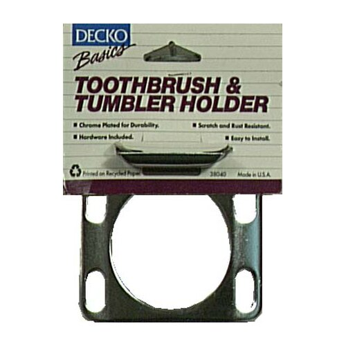 Basics Toothbrush and Tumbler Holder