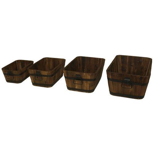 Rectangular Box Planters (Set of 2)