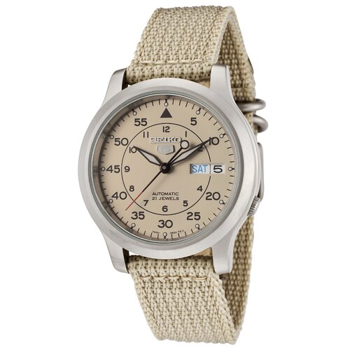 Men's Seiko 5 Automatic Round Watch