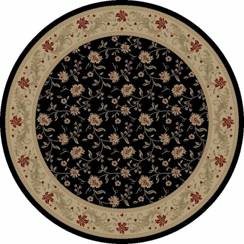 Concord Global Imports Charlemagne Serenity Black Rug