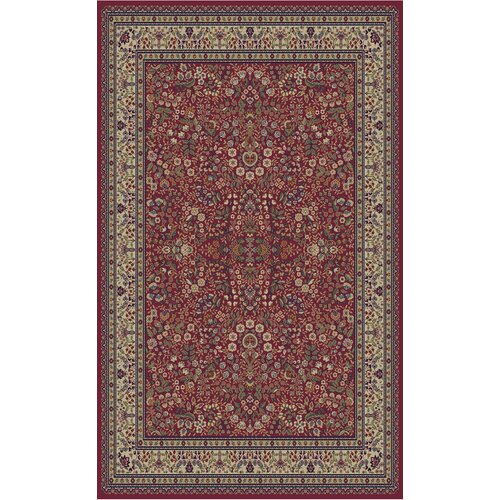 Concord Global Imports Gem Sarouk Red Rug