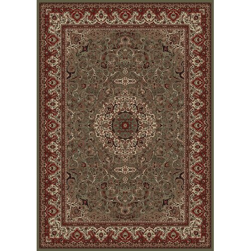 Concord Global Imports Oriental Classics Isfahan Green/Red Rug
