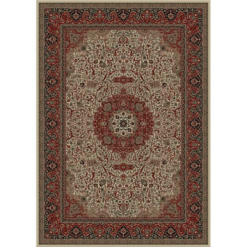 Concord Global Imports Oriental Classics Isfahan Ivory Rug