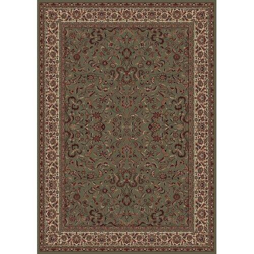 Concord Global Imports Oriental Classics Kashan Green Rug