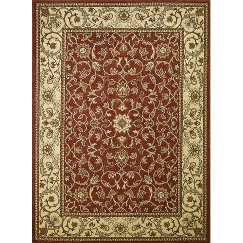 Concord Global Imports Arthur Flora Red Rug