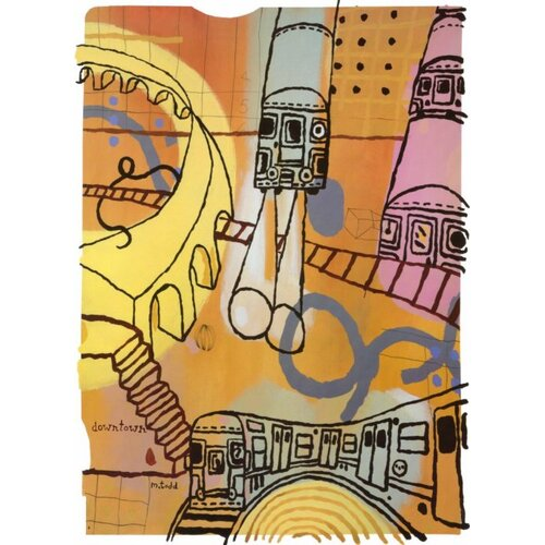 Concord Global Imports New York City 24/7 Novelty Rug