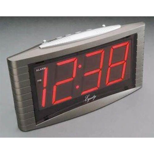 Jumbo LED Electric Alarm Clock