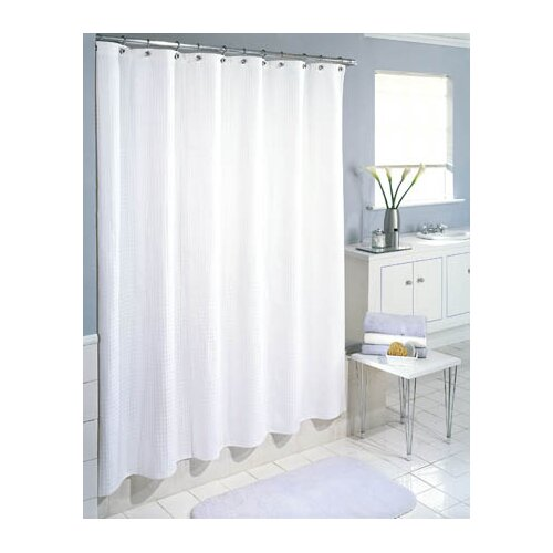 excell waffle weave shower curtain reviews wayfair
