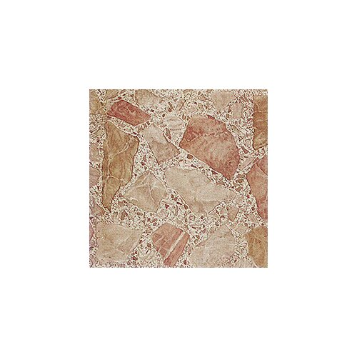 "Home Dynamix 12"" x 12"" Vinyl Tile in Machine Stones"