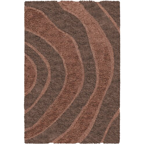 Structure Brown Rug