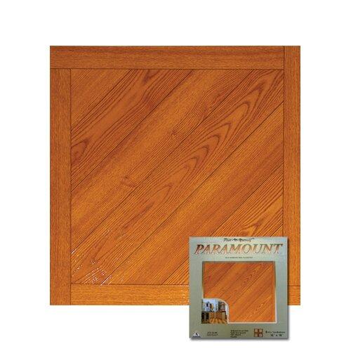 "Home Dynamix 16"" x 16"" Vinyl Tiles in Paramount Woodtone"