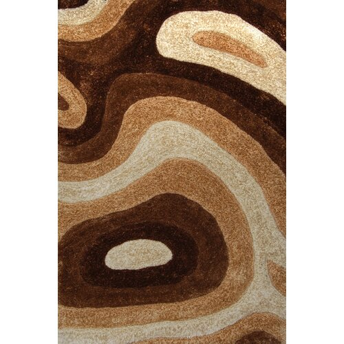 Home Dynamix Summit Cream/Brown Rug