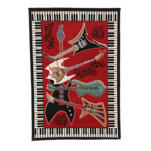 Home Dynamix Zone Music Novelty Rug